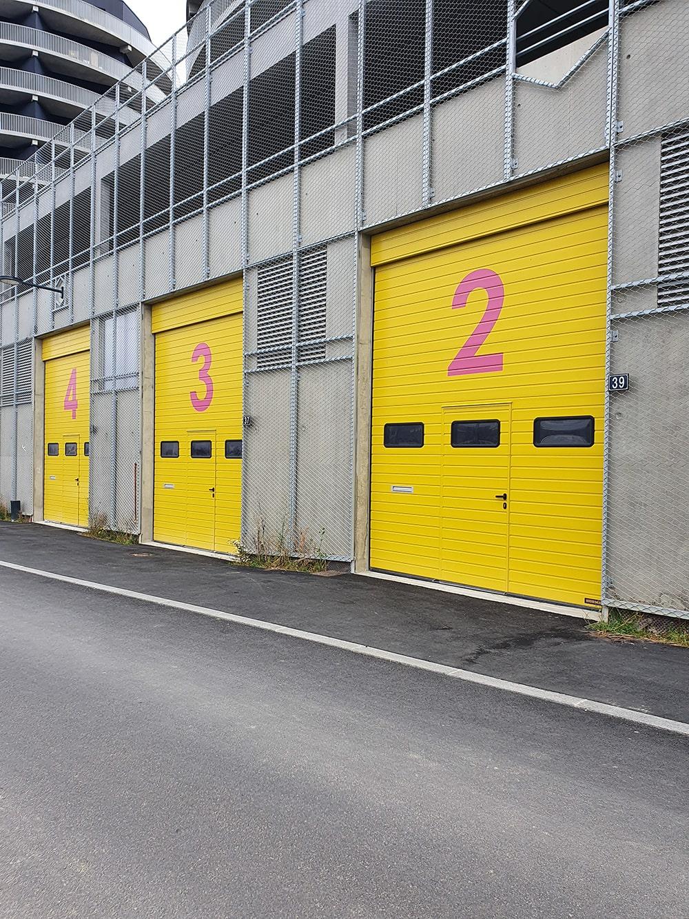 Portes industrielles et sectionnelles