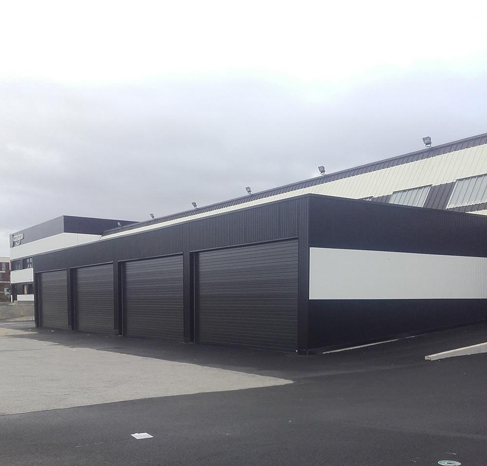 Portes sectionnelles industrielles Rennes