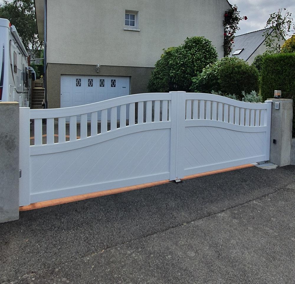 portillon portillon-pvc-blanc-pacé